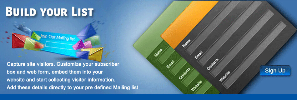 Signup to Mailrail
